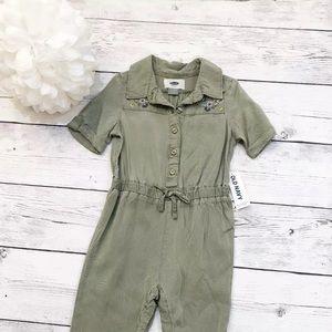 Toddler Green Short Sleeve Jumpsuit - Size 12-18 M